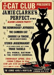Jamie clarke's perfect (Ex Pogues)'s ALBUM Launch Party!
